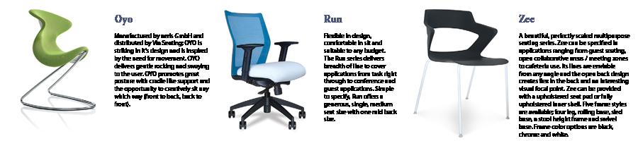Office Interiors - Via Seating NeoCon 2015