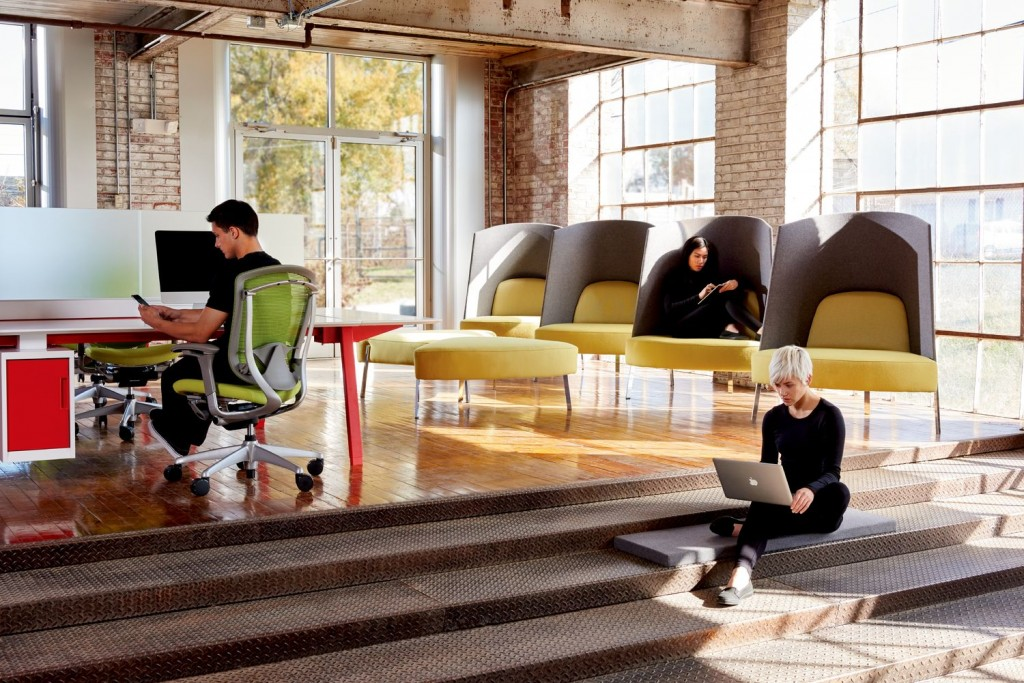 workspace design for the millennial age