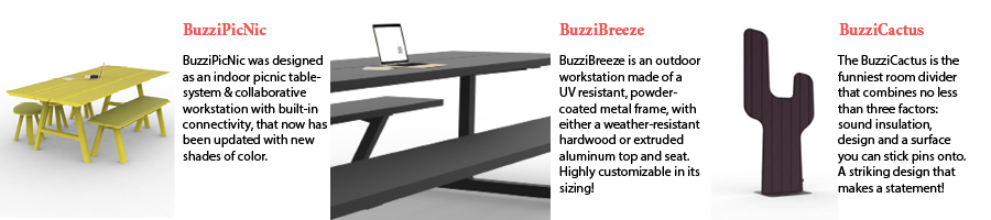 Office Interiors - BuzziSpace NeoCon 2015