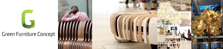 Office Interiors - Green Furniture Concept NeoCon 2015